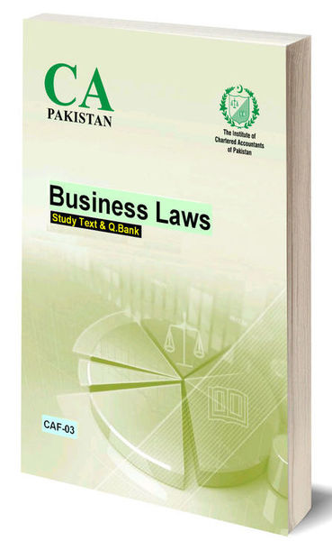 ICAP Business Laws CAF-3 (Study Text)